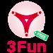 3Fun - Curious Couples & Singles Dating App
