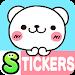 Bear heart Stickers Free