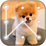 Cover Image of Download Puppy Dog Pattern Lock Screen APK