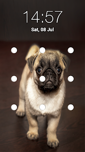 Download Puppy Dog Pattern Lock Screen APK
