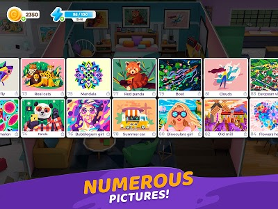 Download Gallery: Coloring Book by Number & Home Decor Game APK