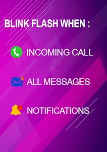 Download Flash blink on Call, all messages & notifications APK