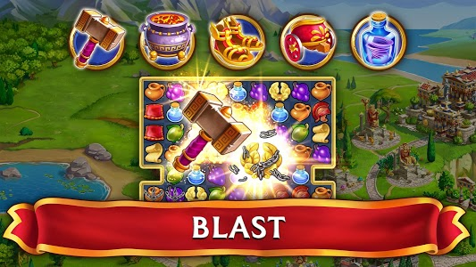 Download Jewels of Rome: Match gems to restore the city APK