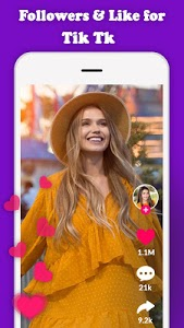 Download Get Fans Likes and Followers for TikTk Free APK