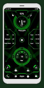 Download Modern style hi-tech launcher APK
